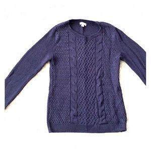 Croft and Barrow Navy Sweater